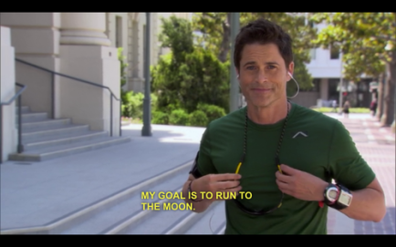 Chris Traeger is my spiritual guide